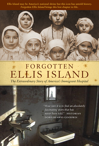"National Broadcast Premiere of ""Forgotten Ellis Island"" by Lorie Conway, Filmmaker. Narrated by Elliott Gould, Historical voices by Mary C. McKitrick.  Tonight, February 2nd on PBS at 10 pm or check local listings"